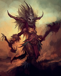 Female Witch Doctor