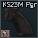 Polymer pistol grip for KS-23M_cell.png