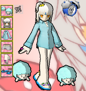 イヴパジャマ(青)