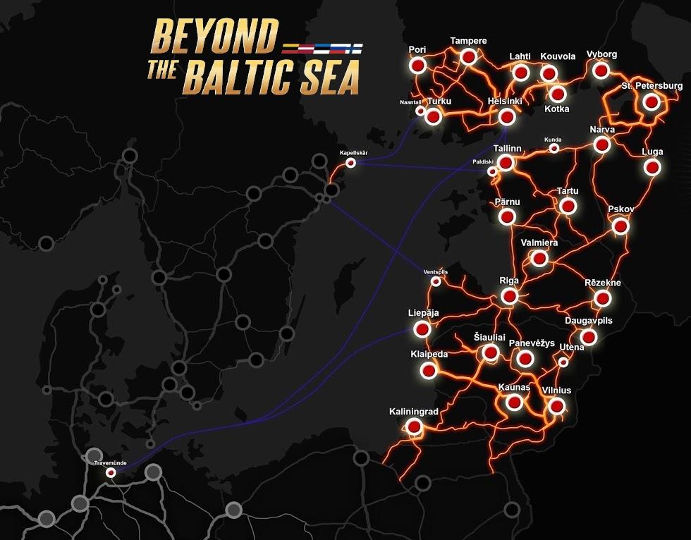 Beyond the Baltic Sea追加エリア
