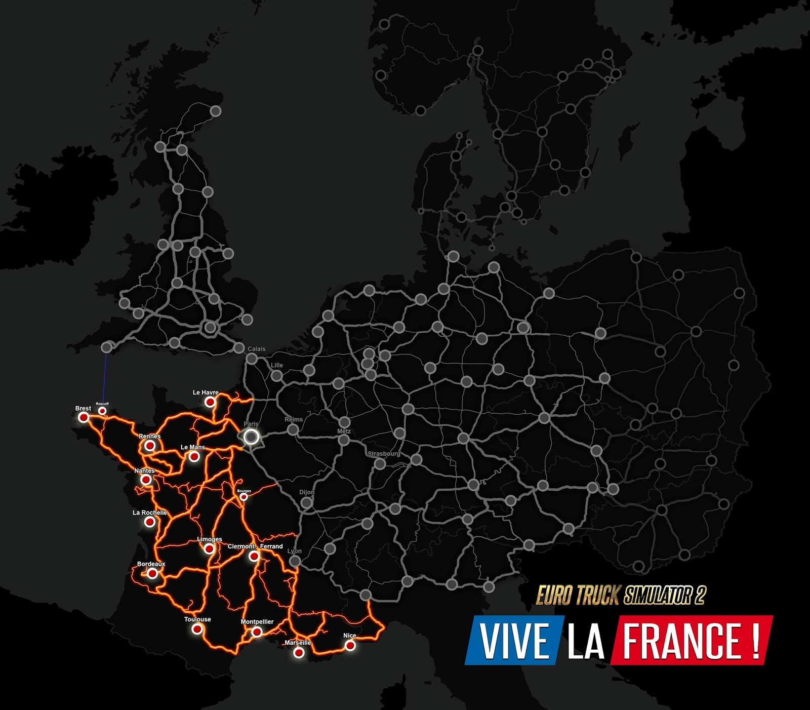 Vive la France!追加エリア