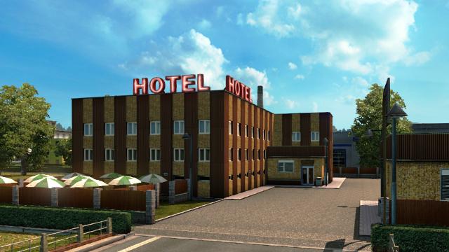 ホテル(メインエリア)