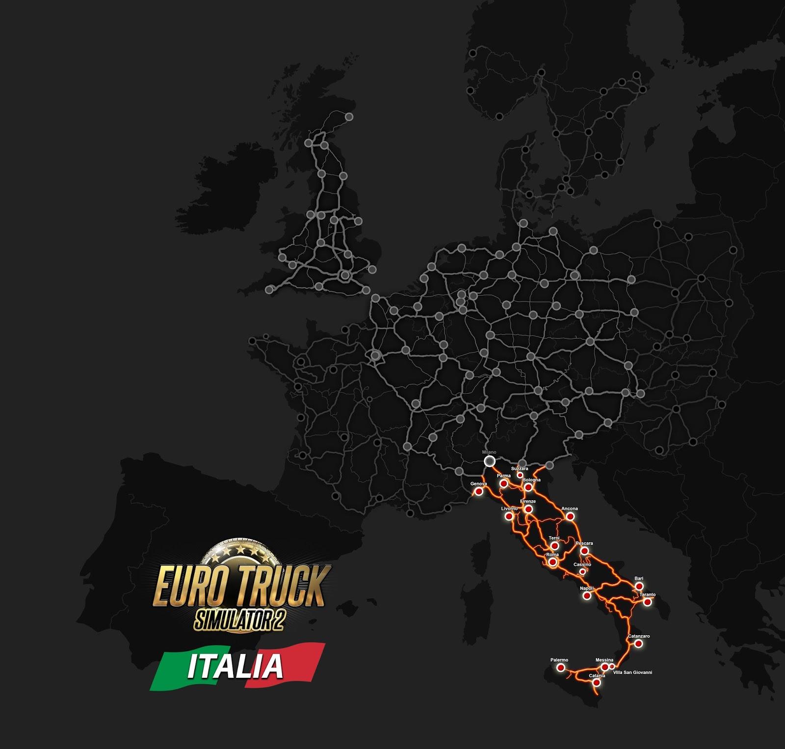 Italia追加エリア