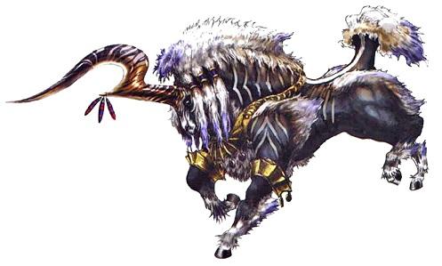 召喚獣の幻獣イクシオン
