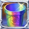 虹色の植木鉢