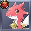 進化竜 赤のブルム5才