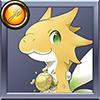 進化竜 黄のブルム5才