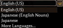 Language List