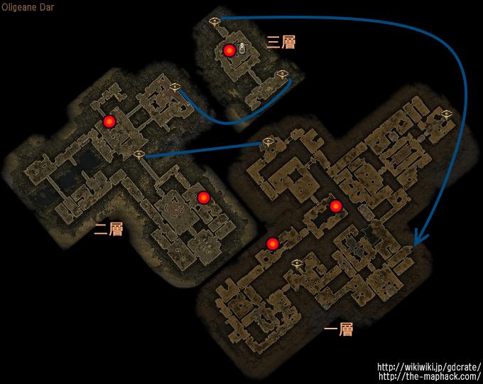 Bounty Monsters - Location List バウンティ対象 出現位置確認リスト