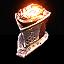 Infernal Knight's Faceguard
