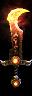 Korvaak's Burning-Blade