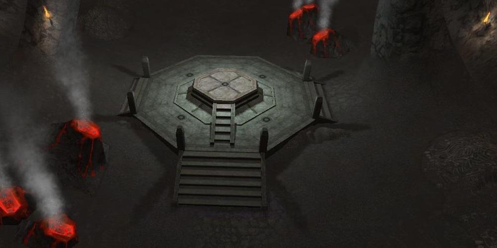 魔性の骸骨の巣