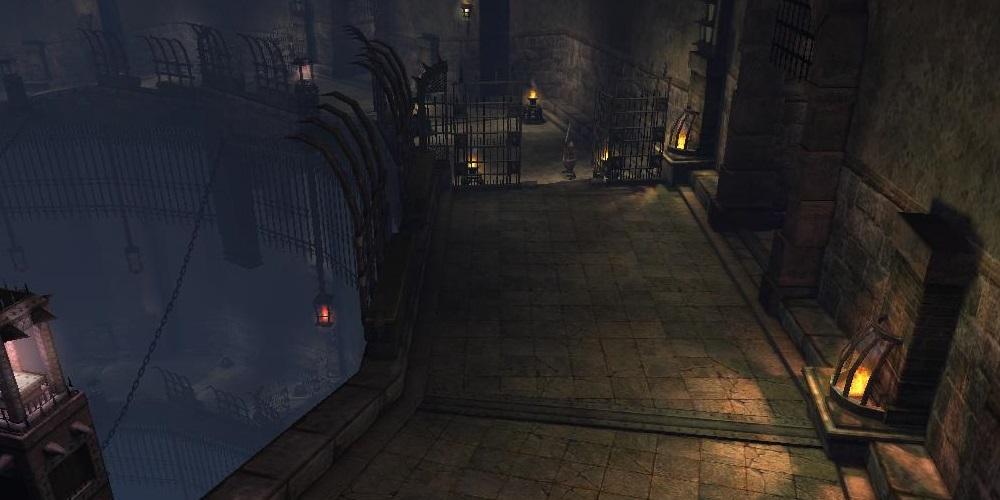 ティグレス収容所 地下1階