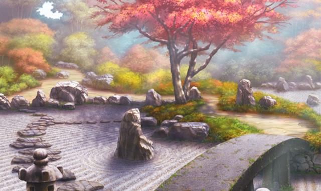 ⑲刻を織る調べの園