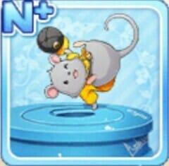 ダンシングマウス 灰