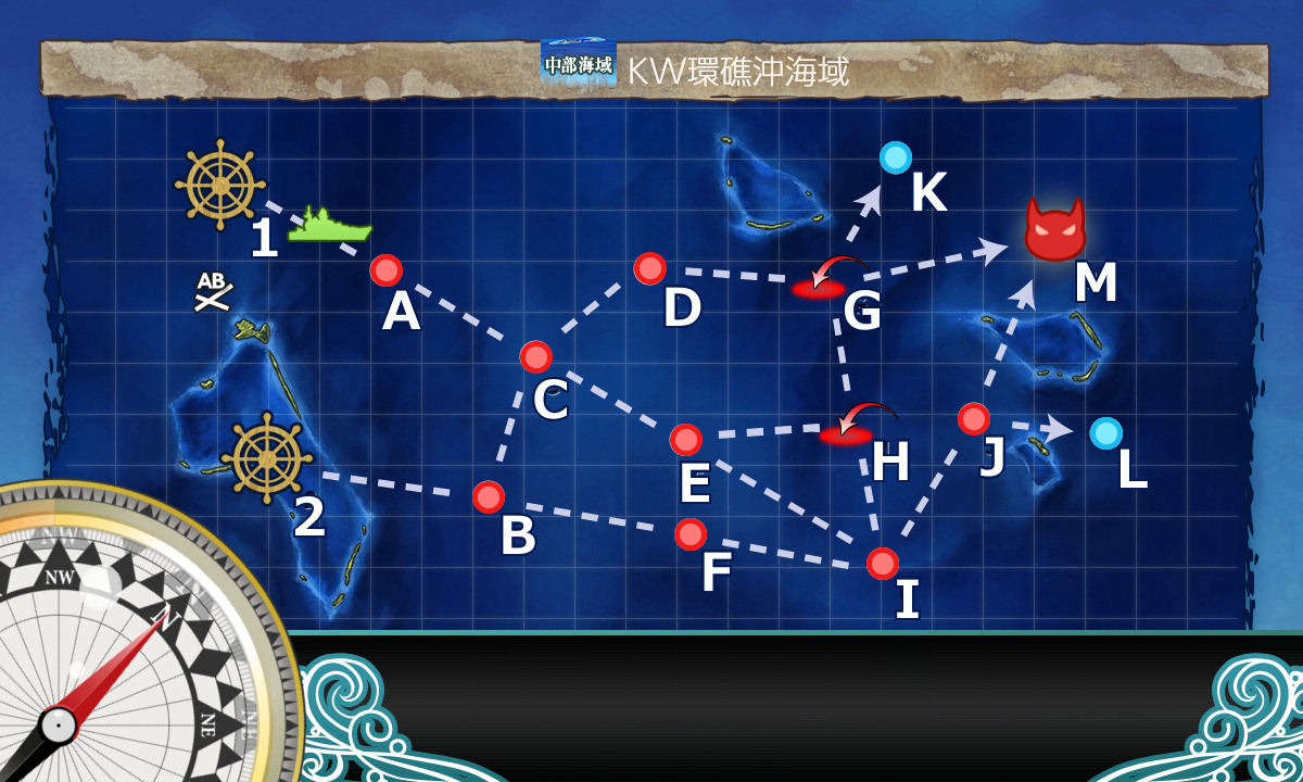 KW環礁沖海域