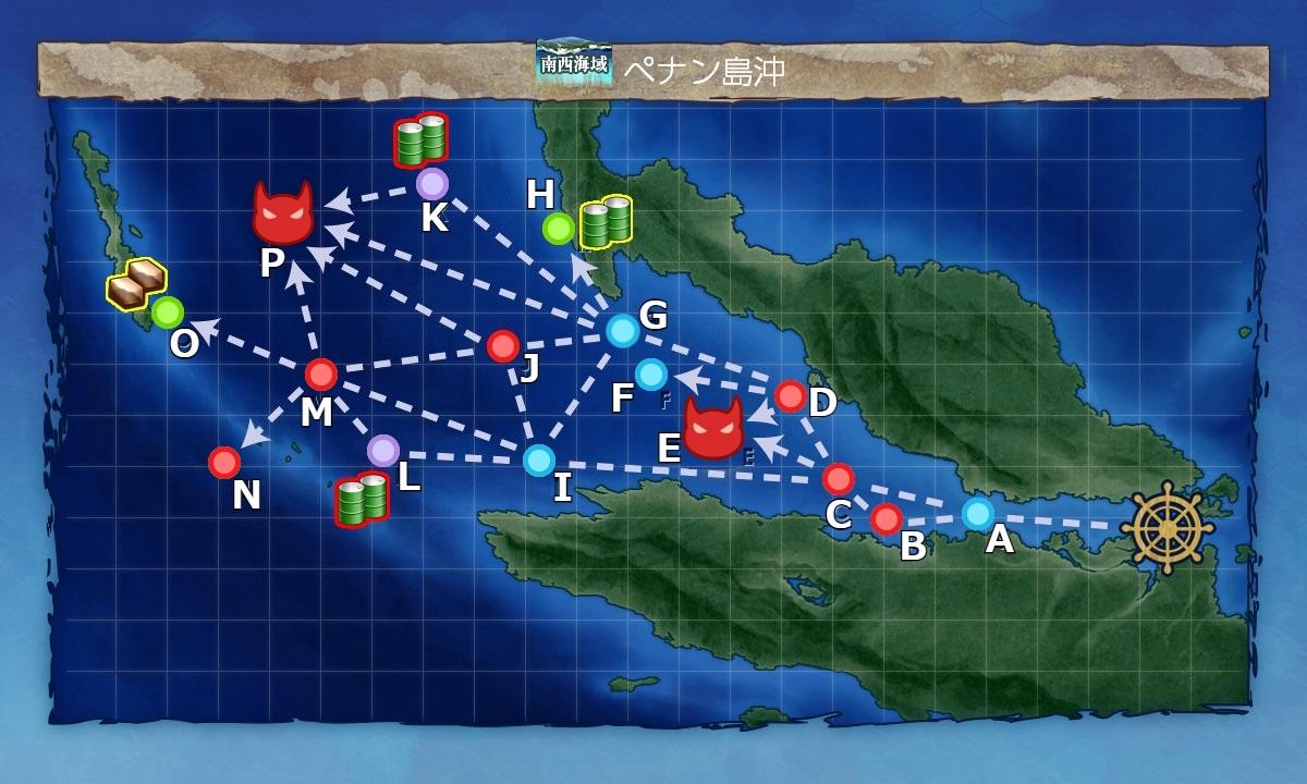 戦闘 哨戒 海域 南西