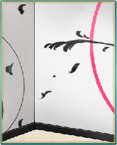 冬のモダンアート壁紙.png
