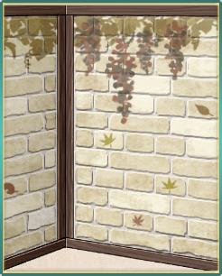 白煉瓦作りの葡萄の壁.png