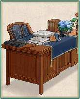紫陽花鉢の提督机.png