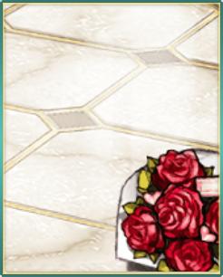 薔薇の花束と高級石床.png