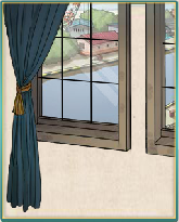 青カーテンの窓.png