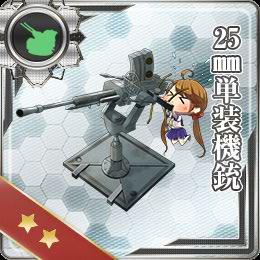 049:25mm単装機銃