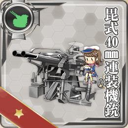 毘式40mm連装機銃