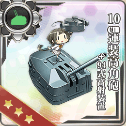 122:10cm高角砲+高射装置