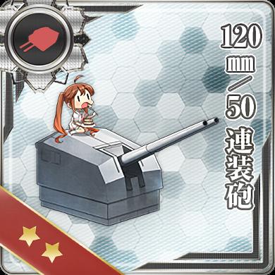 147:120mm/50 連装砲