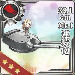 190:38.1cm Mk.I連装砲