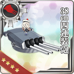 245:38cm四連装砲