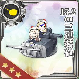 247:15.2cm三連装砲
