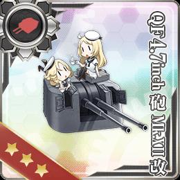 280:QF 4.7inch砲 Mk.XII改
