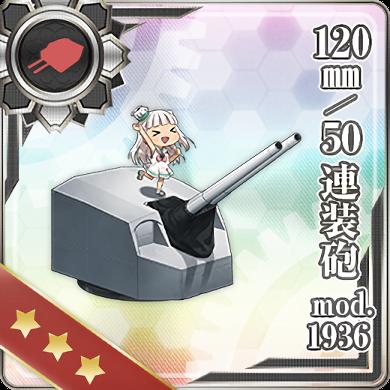 393:120mm/50 連装砲 mod.1936