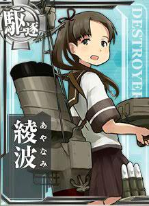 ごきげんよう。特型驱逐舰、綾波と申します。