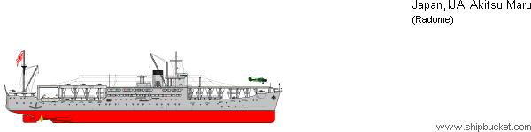 特殊船丙型 あきつ丸