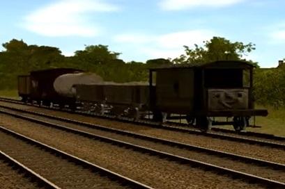 Trainzのイギリス国鉄の顔付き20トンブレーキ車