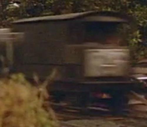 TV版第2シーズンのイギリス国鉄の顔付き20トンブレーキ車