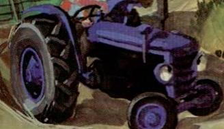 原作第22巻のウィリーのトラクター