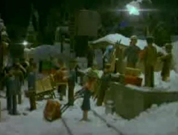TV版第3シーズンのウルフステッドの村人