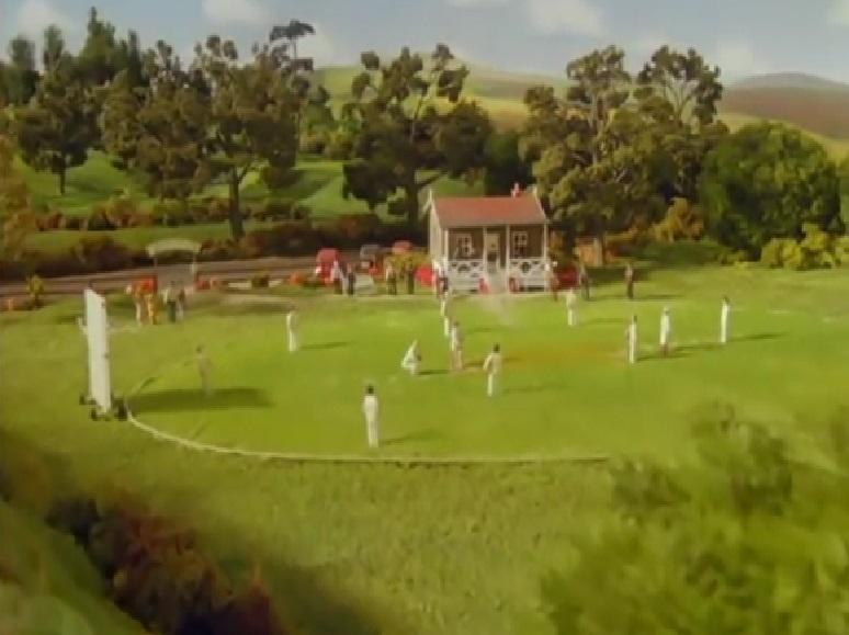 TV版第4シーズンのエルスブリッジ・クリケット場