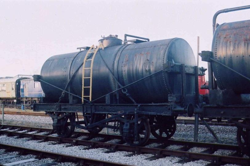 オイルタンク車のモデル車