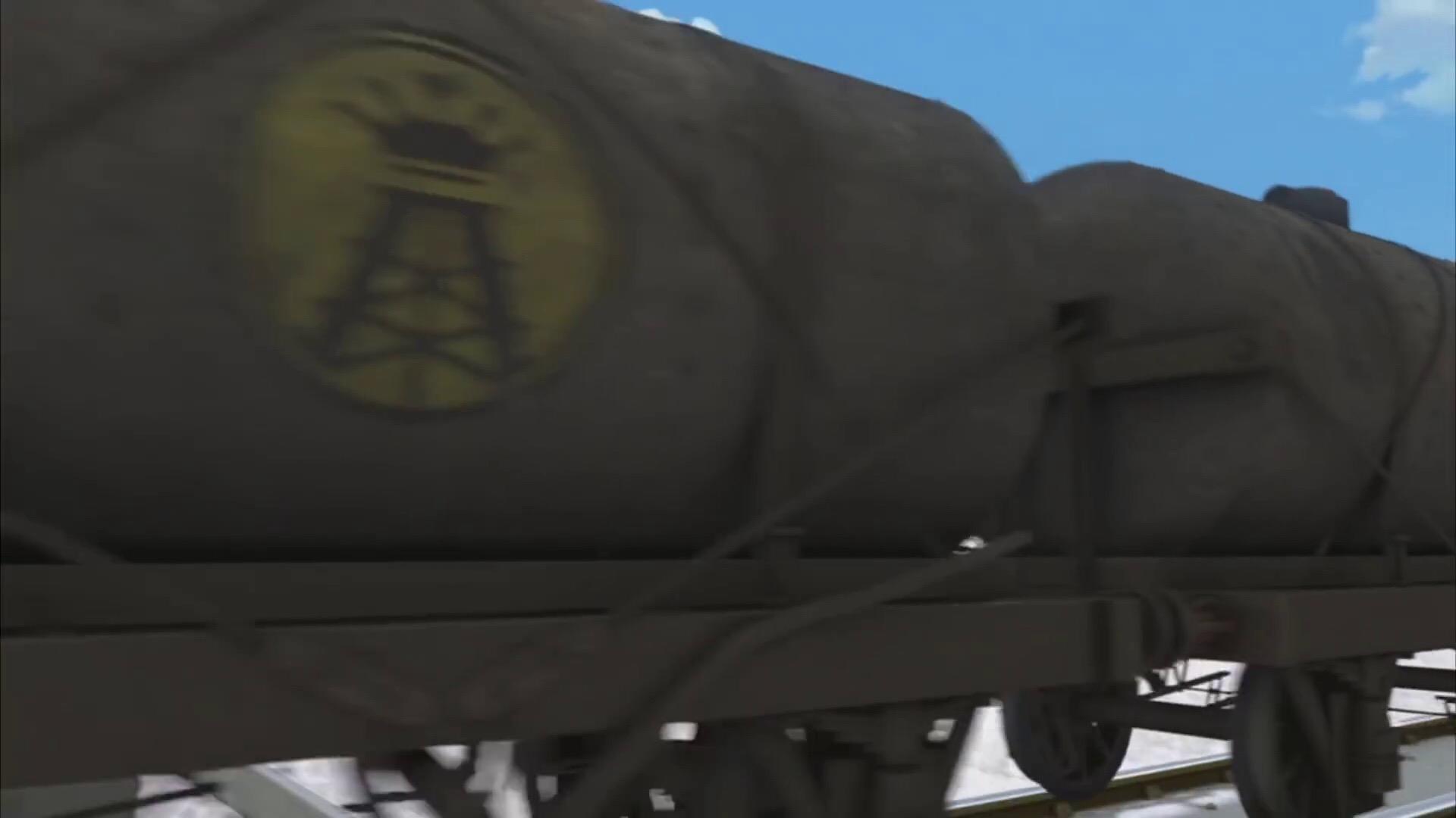 TV版第21シーズンのオイルタンク車(顔無し)