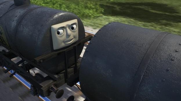 TV版第23シーズンのオイルタンク車(顔有り)