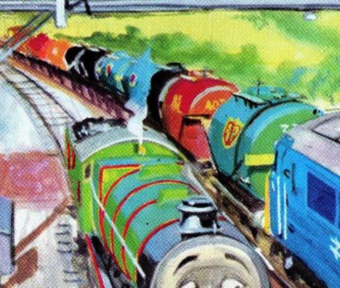 原作第23巻のオイルタンク車