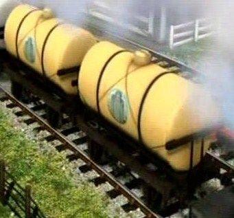 TV版第14シーズンのクリームタンク車