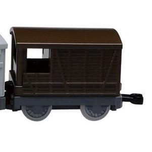 トミカのグレート・ウェスタン鉄道の16トンブレーキ車