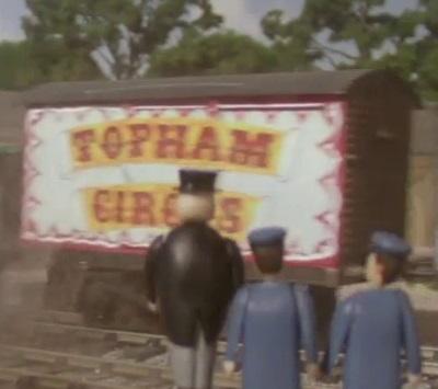 TV版第4シーズンのサーカスのロンドン・アンド・ノース・イースタン鉄道の有蓋貨車