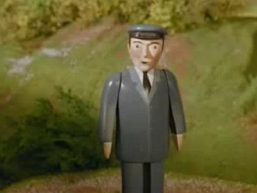 TV版第4シーズンのサー・ハンデルの機関士